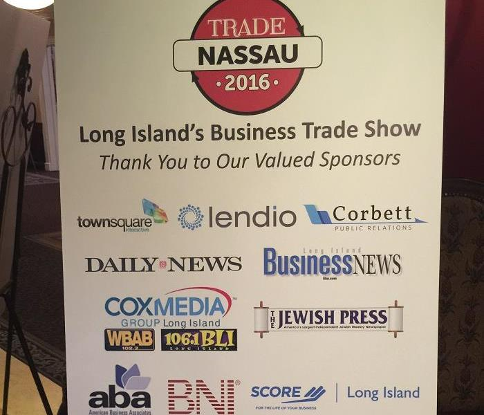 SERVPRO of Great Neck/Port Washington Attends the Nassau County Business Trade Show