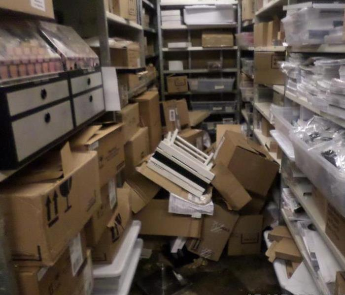 Flooded Retailer Warehouse