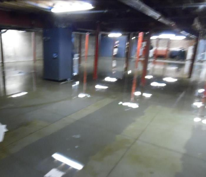 Water Damage in Industrial Buildings