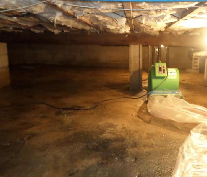 Water Flooded Crawl Space