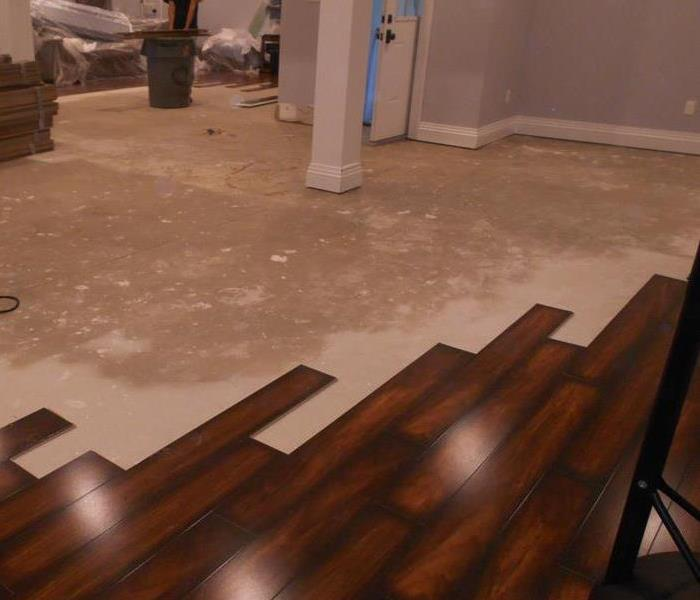 Laminate & Engineered Floors with Water Damage
