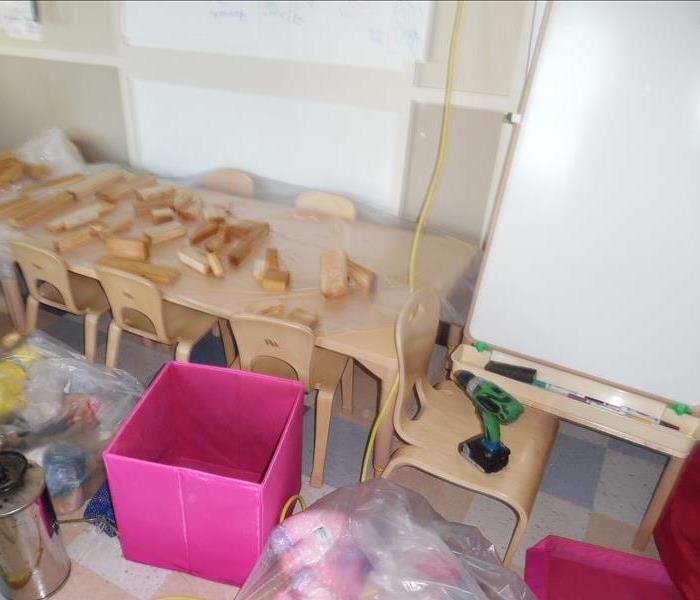Childcare Service Disrupted By Water Damage