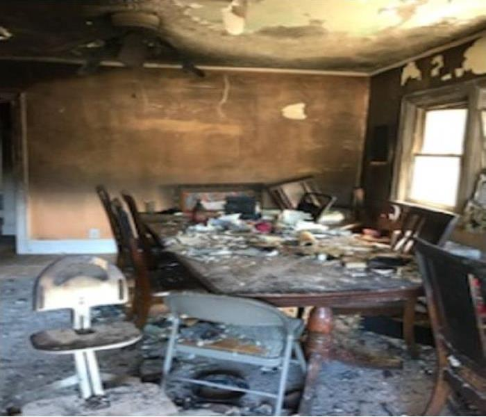 Fire Damage SERVPRO of Great Neck/Port Washington is Ready for any Fire Damage Situation