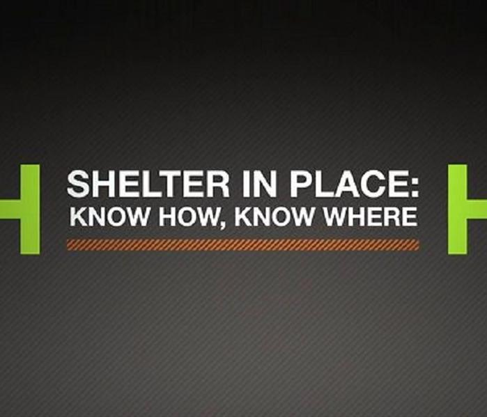 Community Be Ready,National Preparedness Month is Here! Series Part 3 - Learn to Shelter in Place