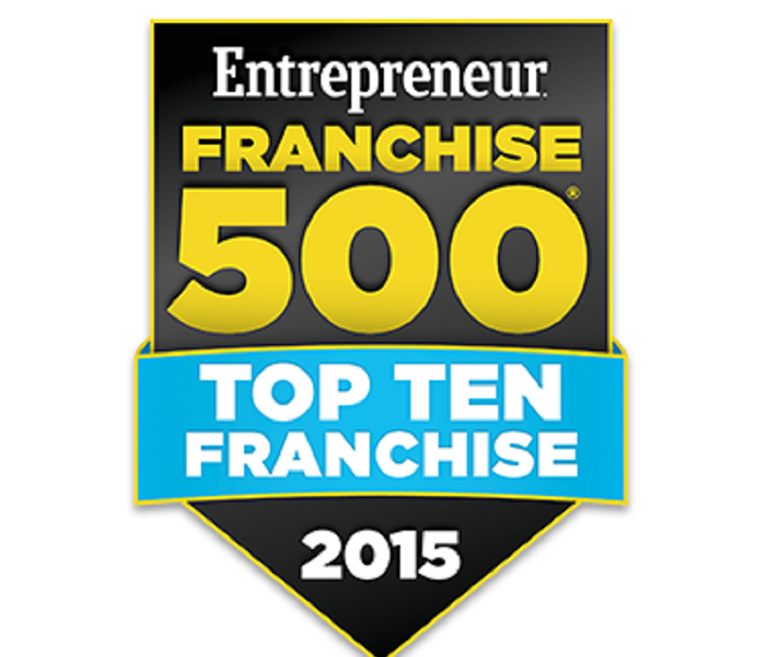 Community SERVPRO® celebrates 6th Consecutive Year on Entrepreneur's Top 10 Franchise List