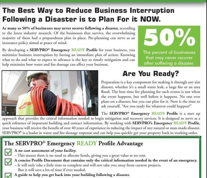 Commercial Developing a Small Business Disaster Recovery Plan