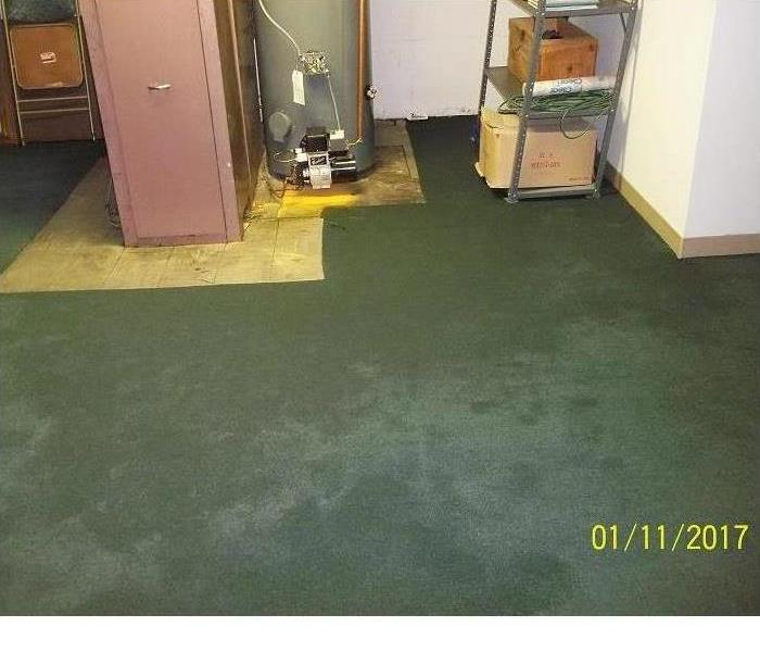 Water Damage Restoration After Utility Water Damage