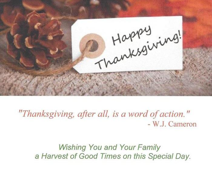 Community Best Wishes To You This Thanksgiving Day