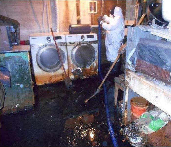 Water Damage Black Sewage Contaminated Water Damage Must Have Proper Restoration