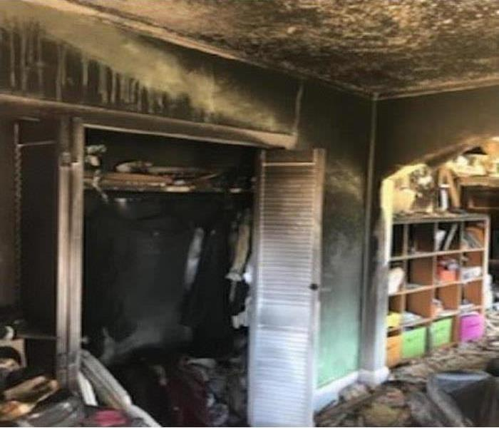 Fire Damage Fire Destroys Tenant's Apartment and Primary Residence