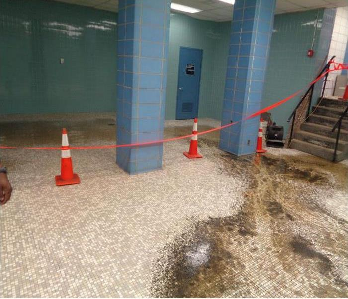 Commercial Commercial Building Suffers Sewage Biohazard Event